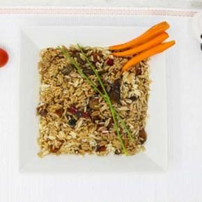 arroz-oriental-con-setas-shiitake-y-verduritas