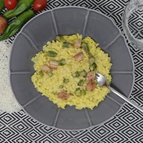 risotto a la milanesa, gastronomía italiana